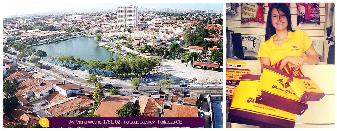 Loja de Presentes Criativos em Fortaleza-CE, bairro Lago Jacarey.