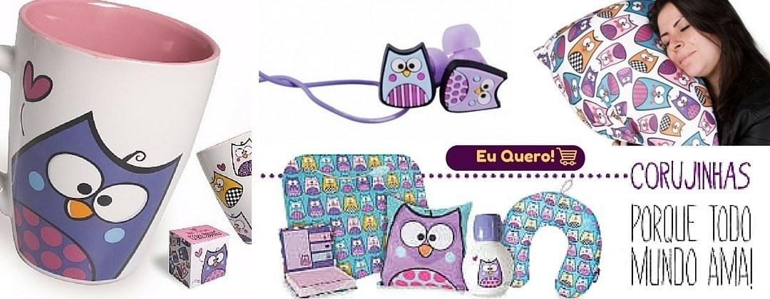 Fotos dos produtos da coleção Coruja/Corujinha. ManaMano Presentes Criativos em Fortaleza. Loja física ou loja virtual.